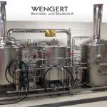 Gasthausbrauerei kaufen bei Firma Wengert – 4-Geräte Sudwerk Elektrisch beheizt