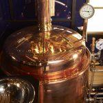 Schaubrauerei auf Bierwagen in Kulmbach der Firma Wengert